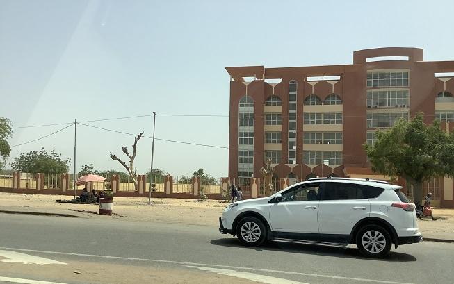 Avenue Mobutu, N'djaména (Tchad)