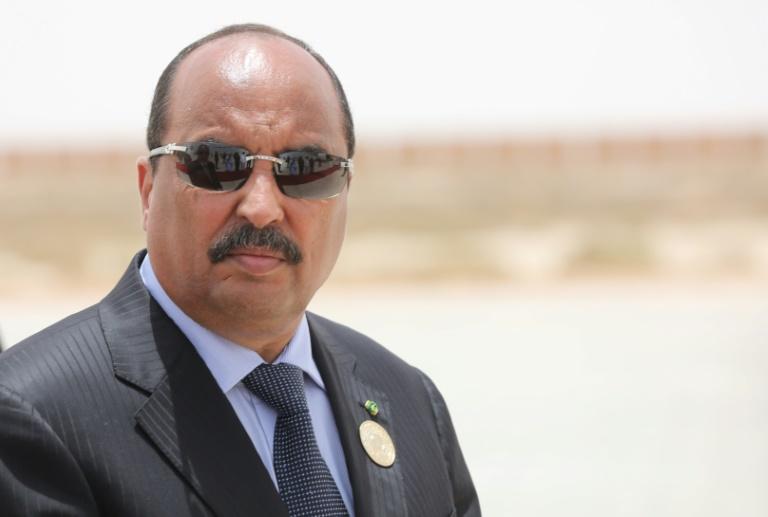 Le président mauritanien Mohamed Ould Abdel Aziz en juillet 2018 à Nouakchott