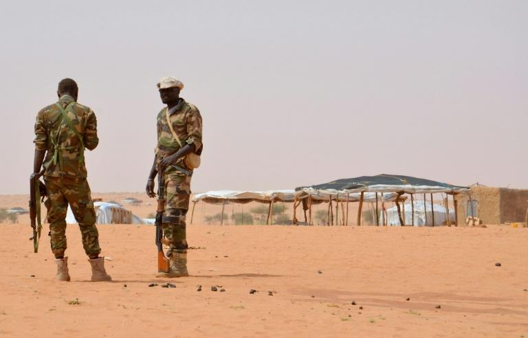 Des soldats nigériens dans la région de Tahoua en octobre 2016