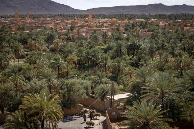 Figuig, oasis marocaine à la frontière avec l'Algérie, le 19 mars 2021