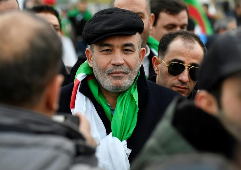 L'opposant algérien Mohamed Larbi Zeitout en janvier 2020 à Berlin