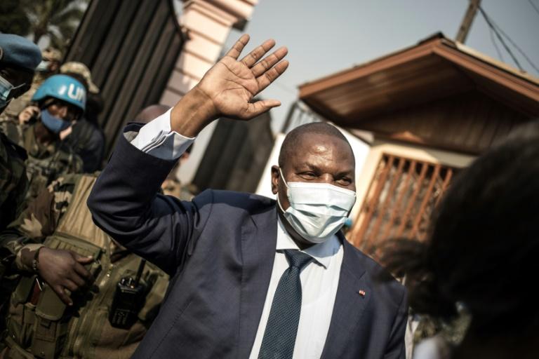 Une photo d'archives du président centrafricain Faustin Touadéra, le 18 janvier 2021.