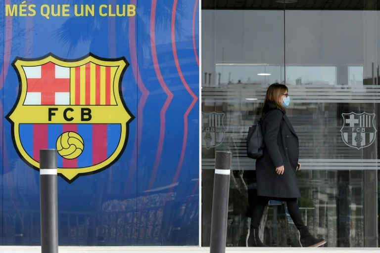 Barcelona are holding elections for club president this week