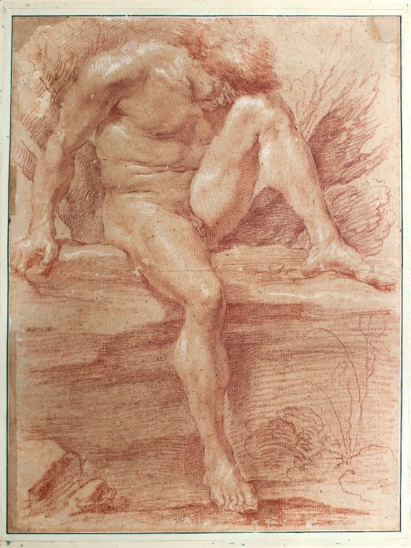 """The """"Academie d'Homme"""" drawing by Italian sculptor and architect Gian Lorenzo Bernini sold for far more than estimated"""