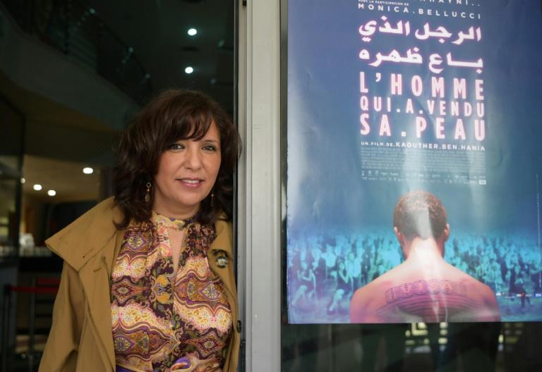 La réalisatrice et scénariste tunisienne Kaouther Ben Henia, à Tunis le 30 mars 2021