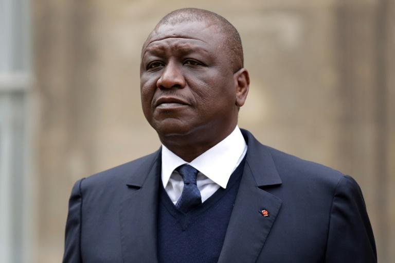 Une photo d'archives, prise le 10 novembre 2017, du Premier ministre ivoirien Hamed Bakayoko, décédé d'un cancer le 10 mars 2021