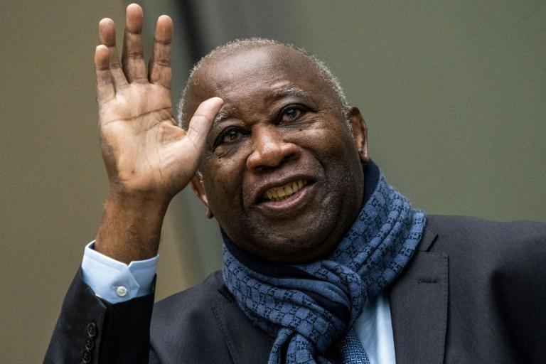 L'ancien président ivoirien Laurent Gbagbo avant une audience devant la Cour pénale internationale à La Haye, le 6 février 2020.