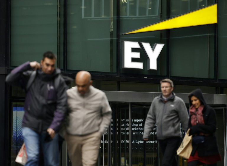 """EY is one of the world's """"Big Four"""" accountancy giants"""